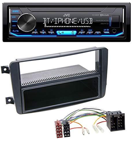 caraudio24 JVC KD-X351BT AUX USB Bluetooth MP3 Autoradio für Mercedes C-Klasse W203 CLK W209 Vito Viano G