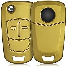 kwmobile Funda de Silicona para Llave Plegable de 2 Botones para Coche Opel Vauxhall - Carcasa