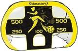 Kickmaster Quick Up Goal And Target Shot - Yellow/Black