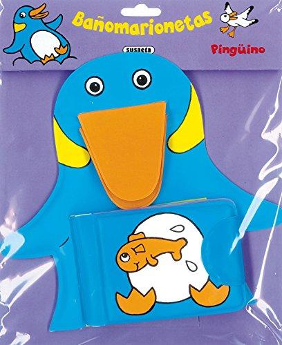 Pingüino (Bañomarionetas) por Equipo Susaeta