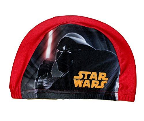 Disney Star Wars Badekappe für Jungen (Rot)
