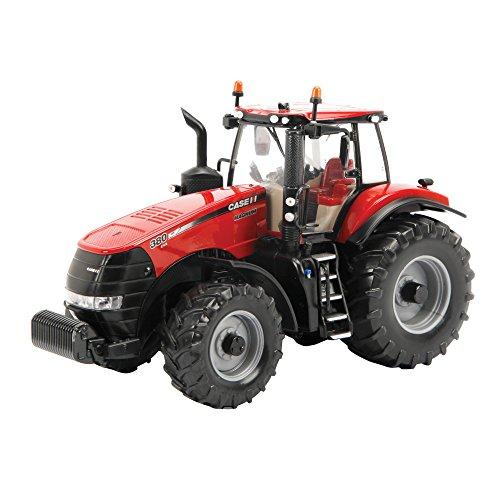 TOMY Britains - Case Magnum IH380 - Kinder Traktor mit höhenverstellbarer Heckhydraulik und klappbaren Spiegeln - Traktor mit Frontgewicht - für Kinder ab 3 Jahre (Traktor Anhänger 1 Spielzeug 32)