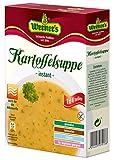 Werner´s Kartoffelsuppe - instant - 4 Teller, 10 Packungen pro Karton, glutenfrei, laktosefrei, fettarm,
