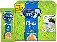 Nestlé Everyday Chai Life Ginger & Lemongrass Instant Tea Premix, 160g (Pack of