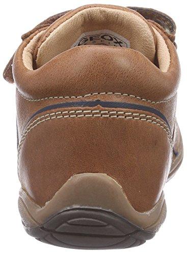 Geox Toledo B C, Chaussures Premiers Pas Bébé Garçon Marron (C6A4P)