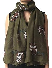 Amazon.fr   chouette - Echarpes et foulards   Accessoires   Vêtements af248027c30