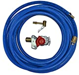 Kupplungskopf rot mit Druckluftschlauch 10m/ 20m oder 30m Werkstattanschluss LKW (Schlauch 10m)