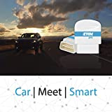 Zyme Pro Smart Car Dongle | GPS Tracking | Remote Performance Monitoring | Theft, Towing Alerts | Compatible with Google Home and Amazon Alexa