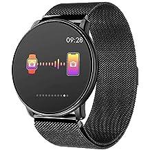 Azorex Smartwatch Reloj Inteligente Multifunción Negocio Trabajo Impermeable IP67 Pulsera Actividad Control Remoto para Deporte Reloj