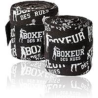 Boxeur des rues BX-GH04Y - Vendas para boxeo, Negro, U