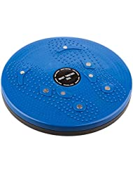 TRIXES Disque Bleu pour Fitness Exercices de Torsion de Taille et de Hanches