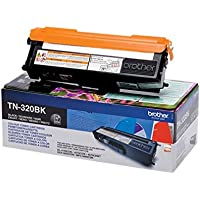 Brother Original Tonerkassette TN-320BK schwarz (für Brother HL-4140CN, HL-4570CDW, HL-4150CDN, HL-4570CDWT, DCP-9055CDN, DCP-9270CDN, MFC-9460CDN, MFC-9970CDW, MFC-9465CDN)