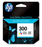 HP 300 Tri-color Original Ink Cartridge (CC643EE)