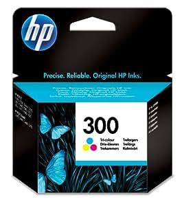 HP 300 Tri-color Original Ink Cartridge (CC643EE)