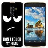 Easbuy Handy Hülle Soft Silikon Case Etui Tasche für Alcatel One Touch idol 4 Pro 6077X / Idol 4S / Windows Smartphone Smartphone Cover Handytasche Handyhülle Schutzhülle