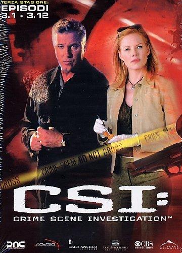 C.S.I. - Scena Del Crimine - Stagione 03 #01 (Eps 01-12) (3 Dvd) [Italia]
