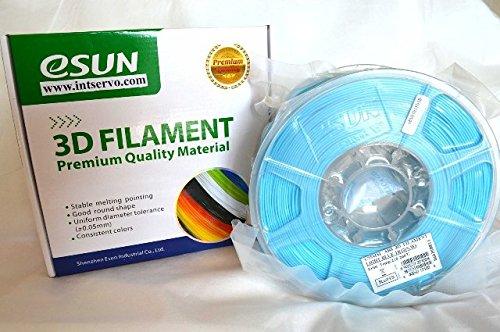 esun Imprimante 3D Filament ABS 1,75mm 1kg Bleu clair