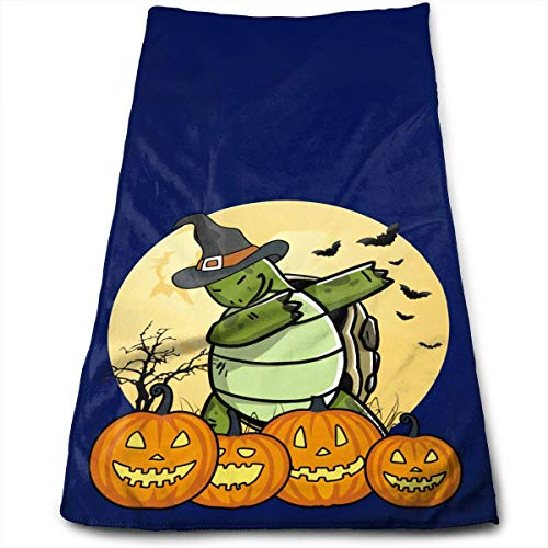 oise Turtle Halloween Towel Highly Absorbent Multipurpose Towels for Hand Face Gym and Spa 12