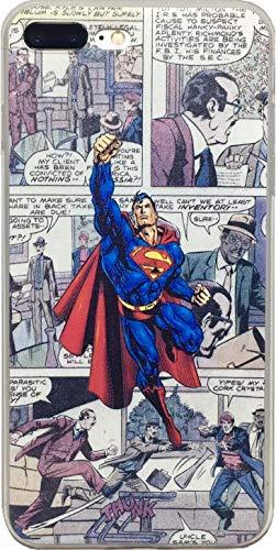 echc TPU Flexible Comic Superheld Fall Kompatibel für iPhone, 6 Plus, Superman