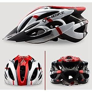 Dayiss ® 2014 Nueva INBIKE Ciclismo BMX bicicletas héroe de la bici del casco con el visera roja