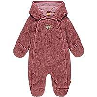 Baby Jungen Overall Fleece mit Zwei Rei/ßverschl/üssen gef/üttert Pl/üsch 5501880 Kiesel Sterntaler