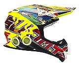 Suomy Casque Moto Cross MR Jump, Multicolore (Shots Yellow),...
