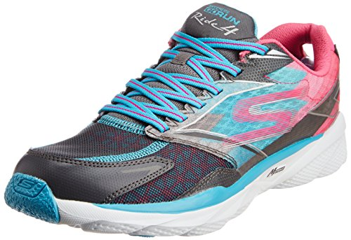 Skechers Go Run Ride 4 - Zapatillas de running de material sintético