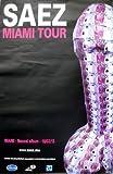 Saez - Miami - 80X120Cm Affiche / Poster
