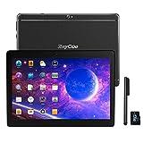 Tablet Android da 10.1 pollici 3G, CPU Quad Core Android 8.1 64 GB (32GB ROM + 32GB SD )2 GB RAM PC IPS HD 1280x800 Sbloccato per Telefonate con Doppio slot per Schede SIM GPS WIFI Bluetooth (Nero)