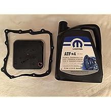 Mopar Wix 58934–AFT + 4Filtro Kit Di Servizio di trasmissione automatica + 5L