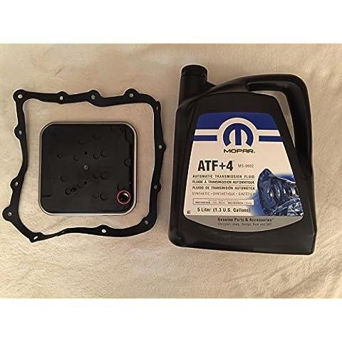 Mopar Wix 58934–AFT + 4transmisión automática Kit de servicio Filtro + 5L