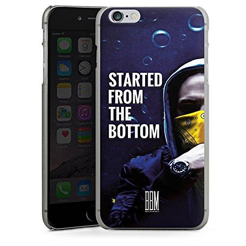 Apple iPhone 6s Plus Hülle Premium Case Cover Spongebozz Started from the Bottom Merchandise Hard Case anthrazit-klar