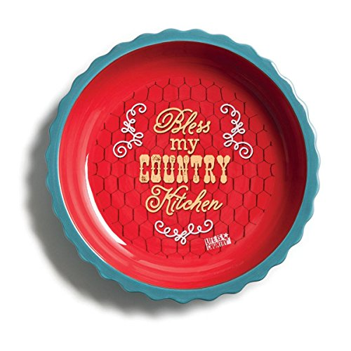 Big Sky Carvers Deep Dish Country Pie Plate by Big Sky Deep Dish Pie Plate