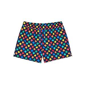 Happy Socks - Farbenfrohe, modisch gemusterte Badehosen für Männer