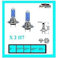 Bombillas / Lamparas H7 12V 55W halogenas luz blanca efecto xenon (2 unidades, marca Eagleye)