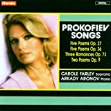 Prokofiev: Songs [Import allemand]
