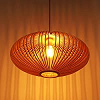 KHSKX Moderno cinese tinta legno fatti a mano moda creativa caldo vintage legno lampada da