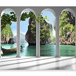 murando - Wallpaper 350x256 cm - Non-woven premium wallpaper - Wall mural - Wall decoration - Art print - Poster picture photo - HD print - Modern decorative - nature 10110903-13