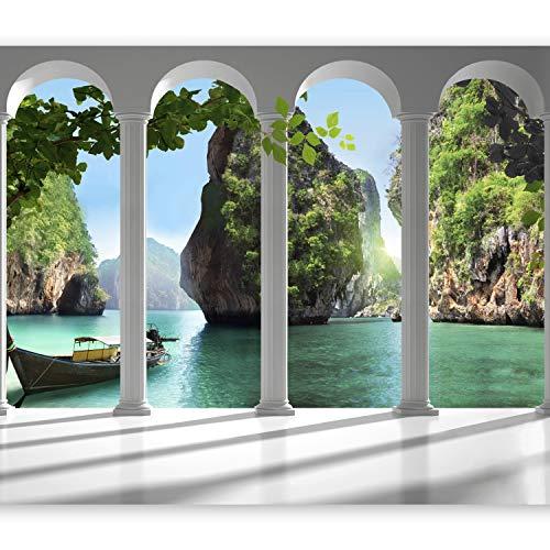 murando Papier peint intissé 400x280 cm Décoration Murale XXL Poster Tableaux Muraux Tapisserie Photo Trompe l'oeil nature 10110903-13