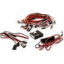 Integy RC Model Hop-ups C24686 Realistic Lighting System w/ Flash Mode for 1/10 & 1/8 Vehicles By G.T. Power