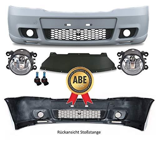 DM Autoteile OPC II Optik Stoßstange vorne grundiert ABS mit Nebelscheinwerfer Chrom 97-05 für Astra G