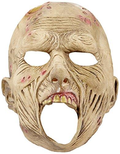 Widmann 00419 - maschera a trequarti da zombie, in taglia unica adulto