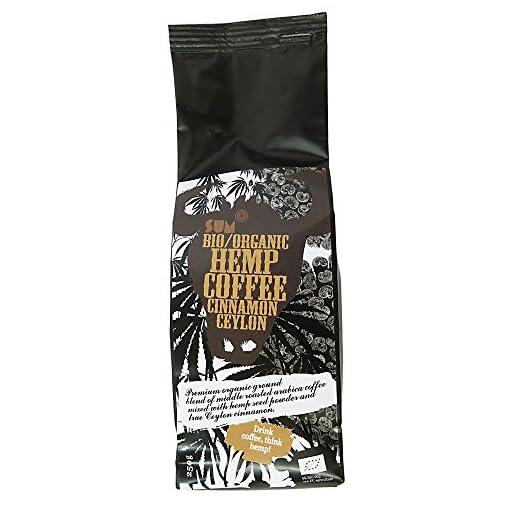 Hemp Coffee – Organic , Vegan and Gluten Free – 250 g (Ceylon Cinnamon)