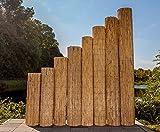 Schilfrohrmatten Premium für Balkon, Beach, 90 hoch x 600cm breit, ein Produkt von bambus-discount - Sichtschutz Matten Windschutzmatten