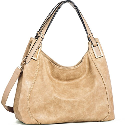 c6068e5a2e4f5 IN ANGEL Handtasche Damen Henkeltasche Umhängetasche Crossbody Hobo Tasche  Schultertasche Damen PU Leder Handtasche für Frauen