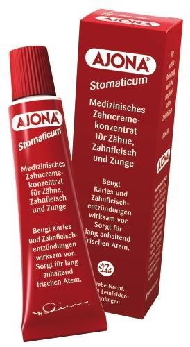 Dr. Rudolf Liebe Nachfolger Ajona Stomaticum medizinisches Zahncremekonzentrat, 1er Pack (1 x 25 ml)