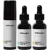 Minimalist Daily Multi Vitamin (A, B3 & C) Dose For Healthy, Glowing Skin | Antioxidant Rich Face Serums & Anti Aging…