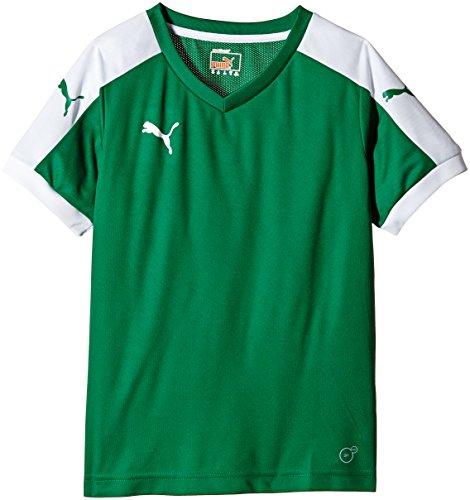 Puma Unisex-Kinder T-Shirt Pitch, grün (Power Green/White), Gr. 15-16 Jahre (Herstellergröße: 176) - Die Französischen Grünen T-shirt