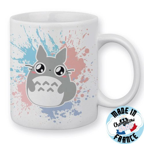 Mug Mon voisin Totoro Chibi Pastel by Fluffy Chamalow - Fabriqué en France - Chamalow Shop