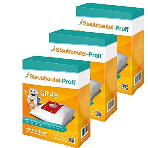 30 Staubsaugerbeutel SP49 von Staubbeutel-Profi® kompatibel zu Swirl PH86, Swirl PH96, Swirl E82, Swirl VO75